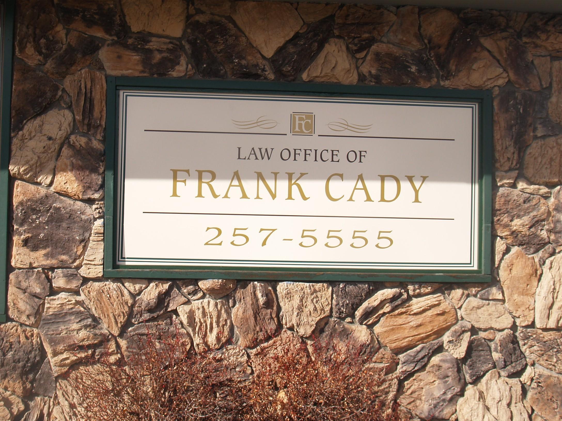 Frank Cady 2002 Frank Cady 2005...